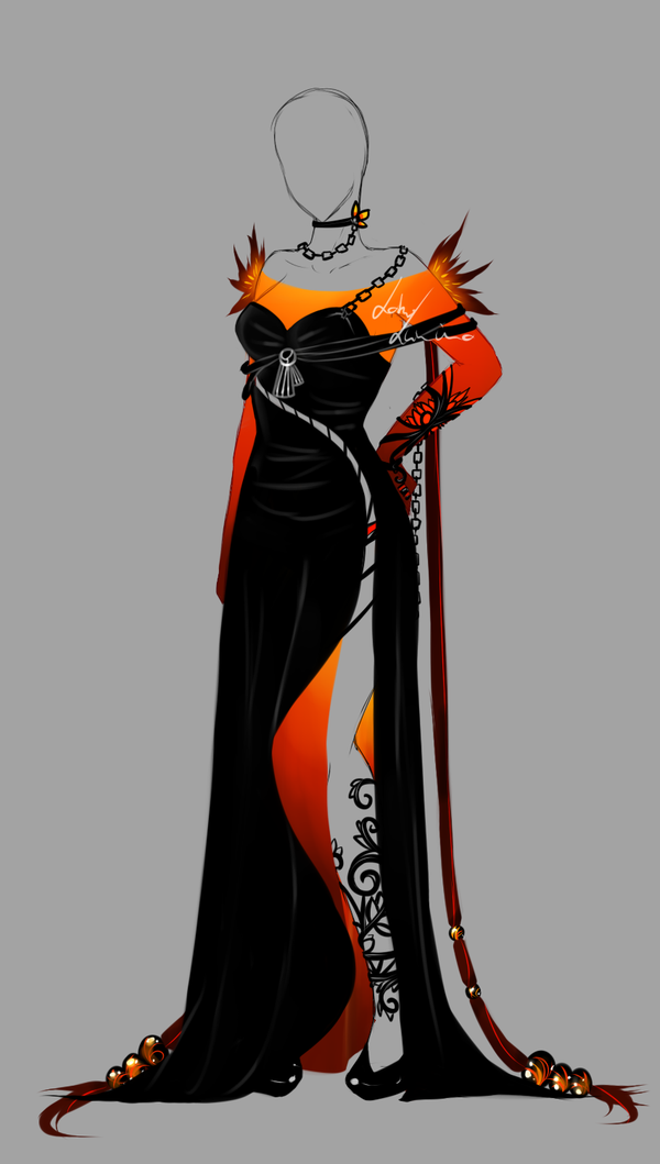 Outfit design 152 closed by LotusLumino Character