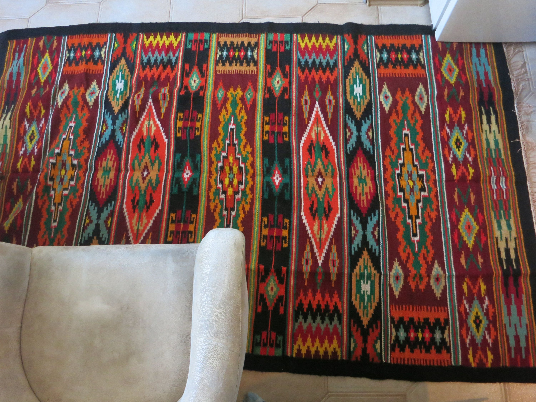 Wool rug, bohemian rug, bohemian kilim, pastel color kilim, ethnic ...