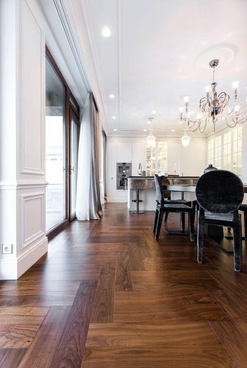 European Walnut Herringbone Parquet Flooring Free Samples Unique