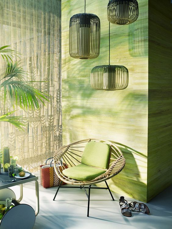 Une déco au look tropical Colors on wall Pinterest