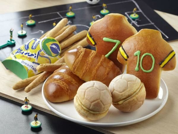 World Cup breads.