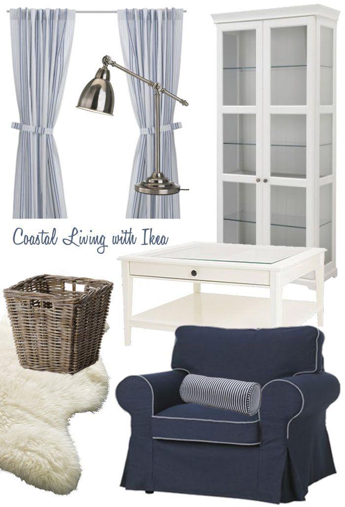 Coastal Living with Ikea  Coastal style decorating, Coastal