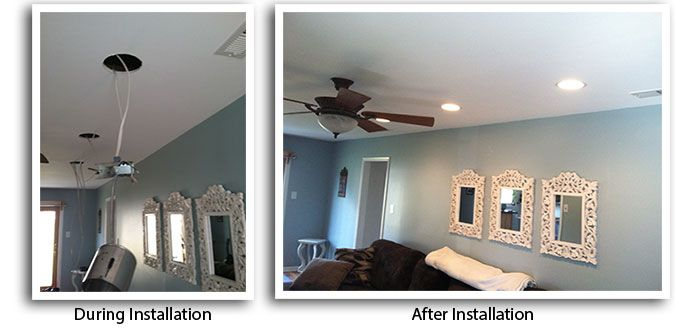 How To Wire Recessed Lighting Philadelphia Installation Of Recessed Lights Living Room Family
