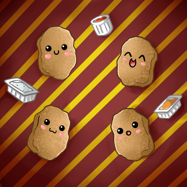 Cute Chicken Nugget Wallpaper Deviantart More Like Egg Salad By Nashiil Sweet Tooth