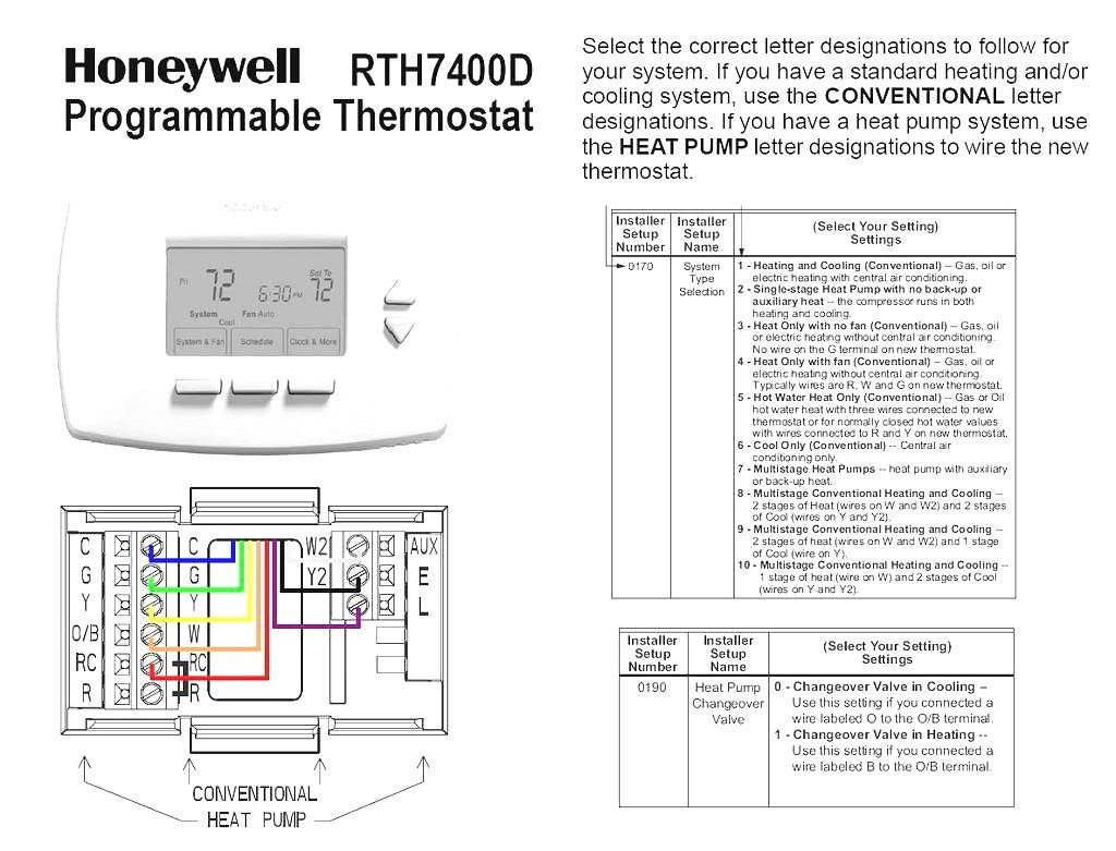 Goodman Heat Pump Thermostat Wiring Diagram Thermostat Wiring Programmable Thermostat Heat Pump