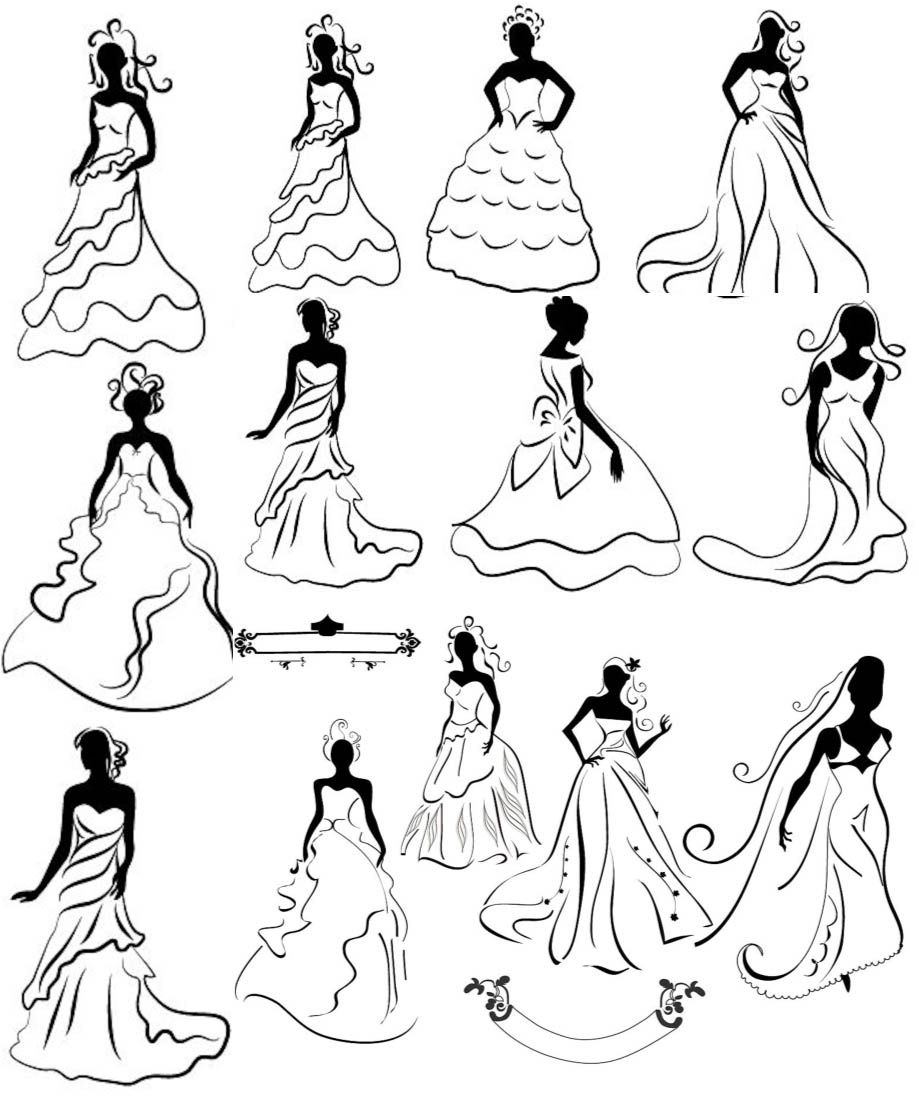 Http://www.abcfvg.com/wedding/brides-silhouettes-wedding