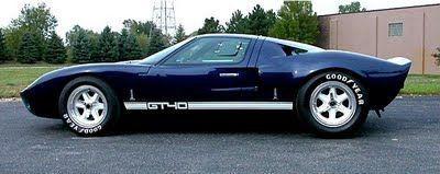 Ford GT40 profile