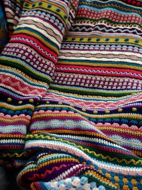 Skittles Crochet Blanket Pattern Is A Stunner | The WHOot