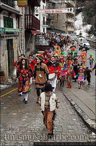 Celebraciones de febrero en Aragón