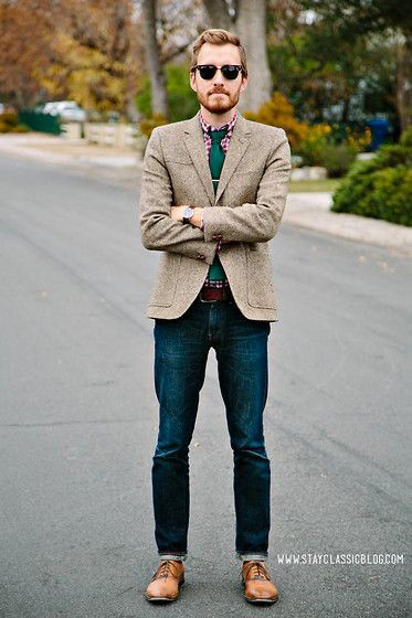 844c0d547237 Redhead / Ginger | Famous Outfits Christmas Blazer, Sharp Dressed Man, Well  Dressed Men