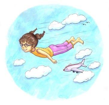 vliegtuig kathleen rietz  yoga voor kinderen yoga