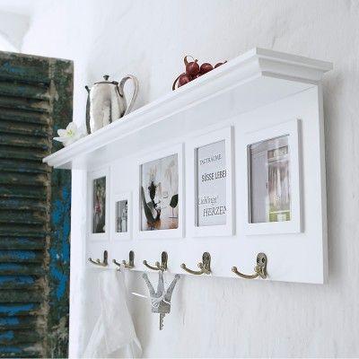 Wandgarderobe Weiss Garderobe Weiss Landhaus Wohnideen Pinterest
