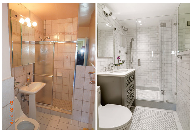 Small Ensuite Bathroom Makeovers small ensuite bathroom makeover | new home ideas | pinterest