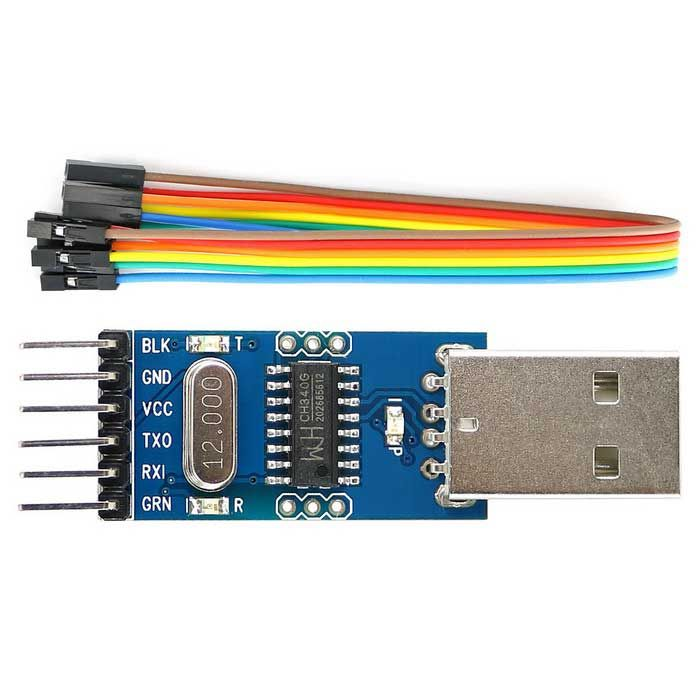 Ch g serial port debugger usb to ttl converter adapter