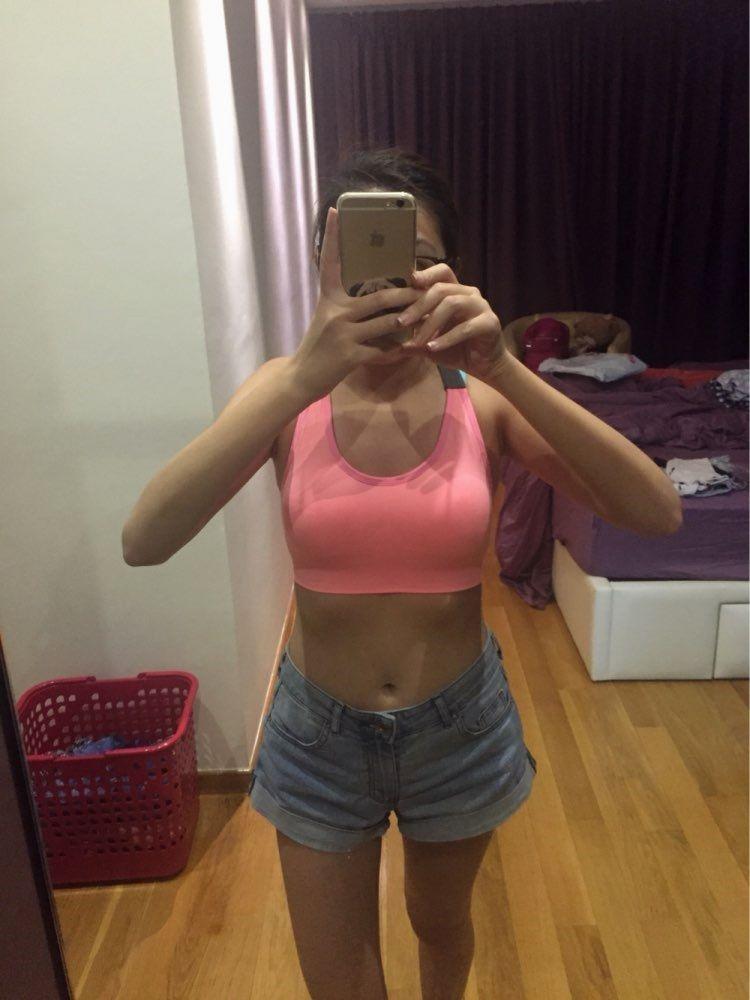 Very Cute Woman's Pro Compression Sports Bra Sports bras