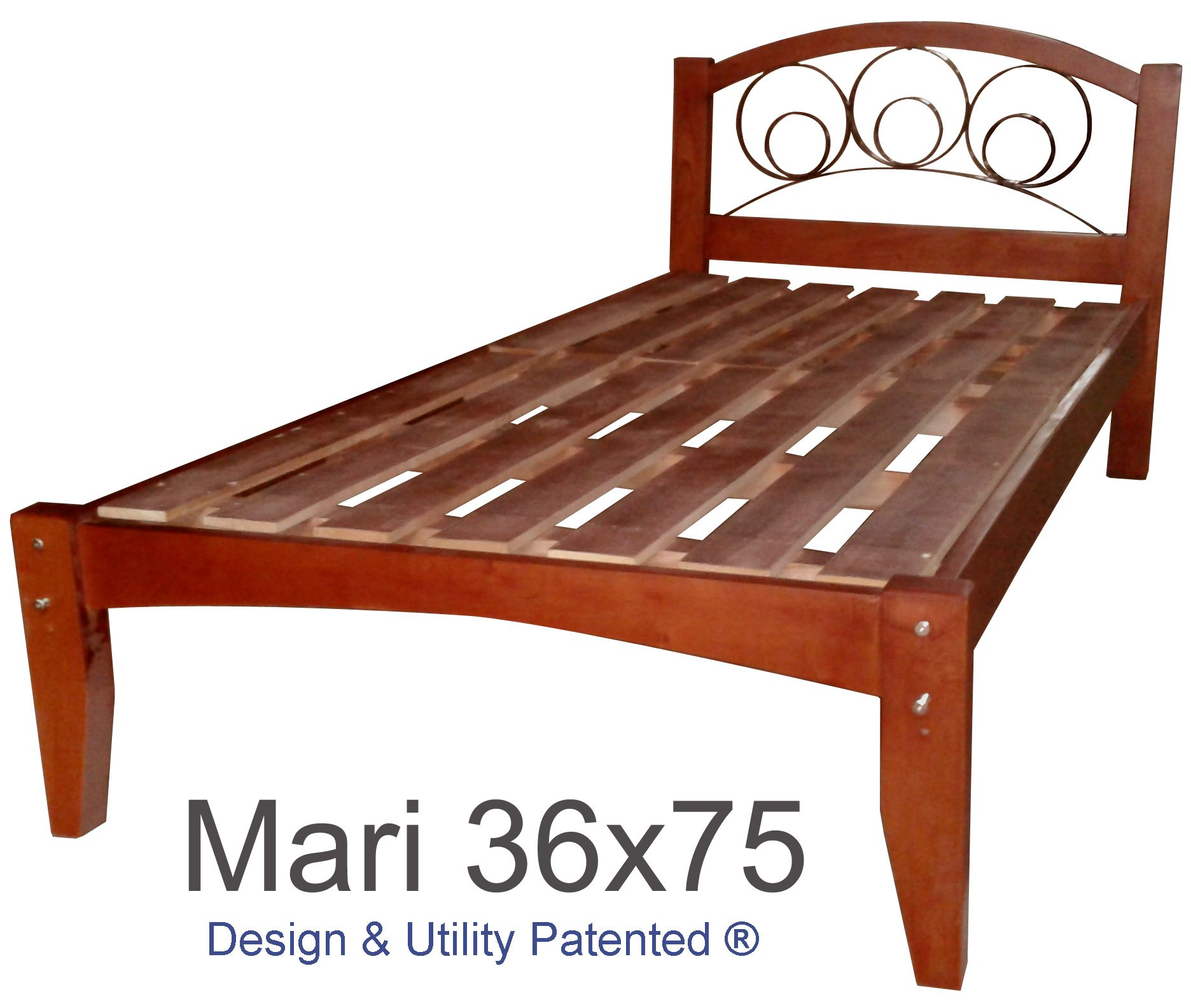 Solid Wood Bed Frame With Images Solid Wood Bed Frame Wood