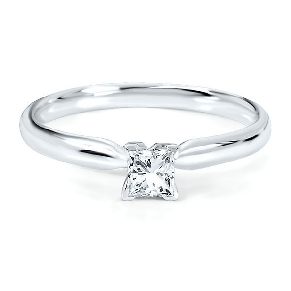 1/4 ct. Prima Diamond Solitaire Engagement Ring in 14K White Gold