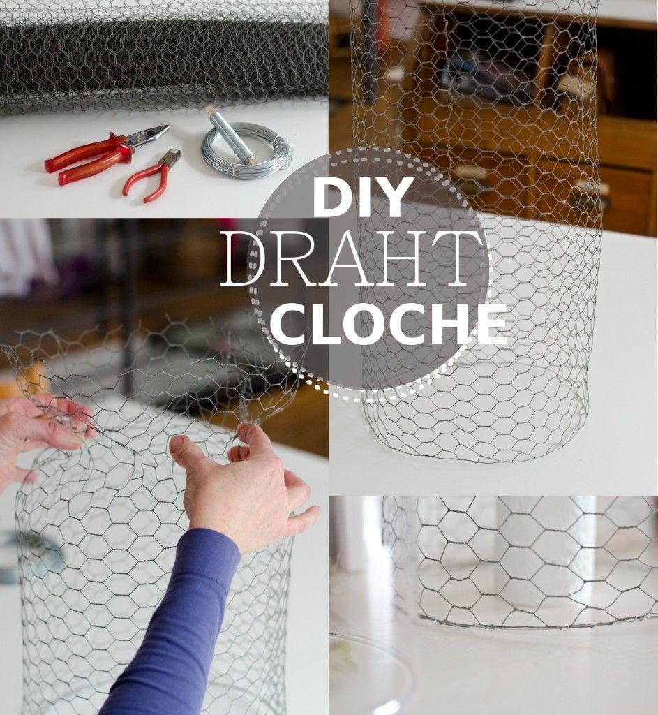 diy cloche aus draht draht fr hling und anleitungen. Black Bedroom Furniture Sets. Home Design Ideas