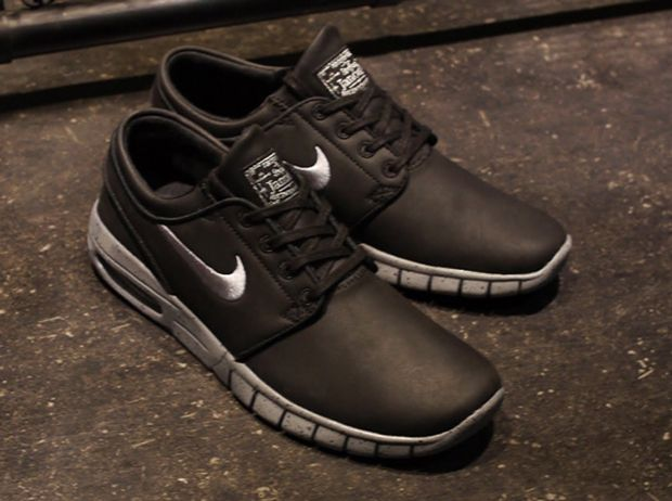 lace up in factory price fashion styles Nike SB Stefan Janoski Max Leather