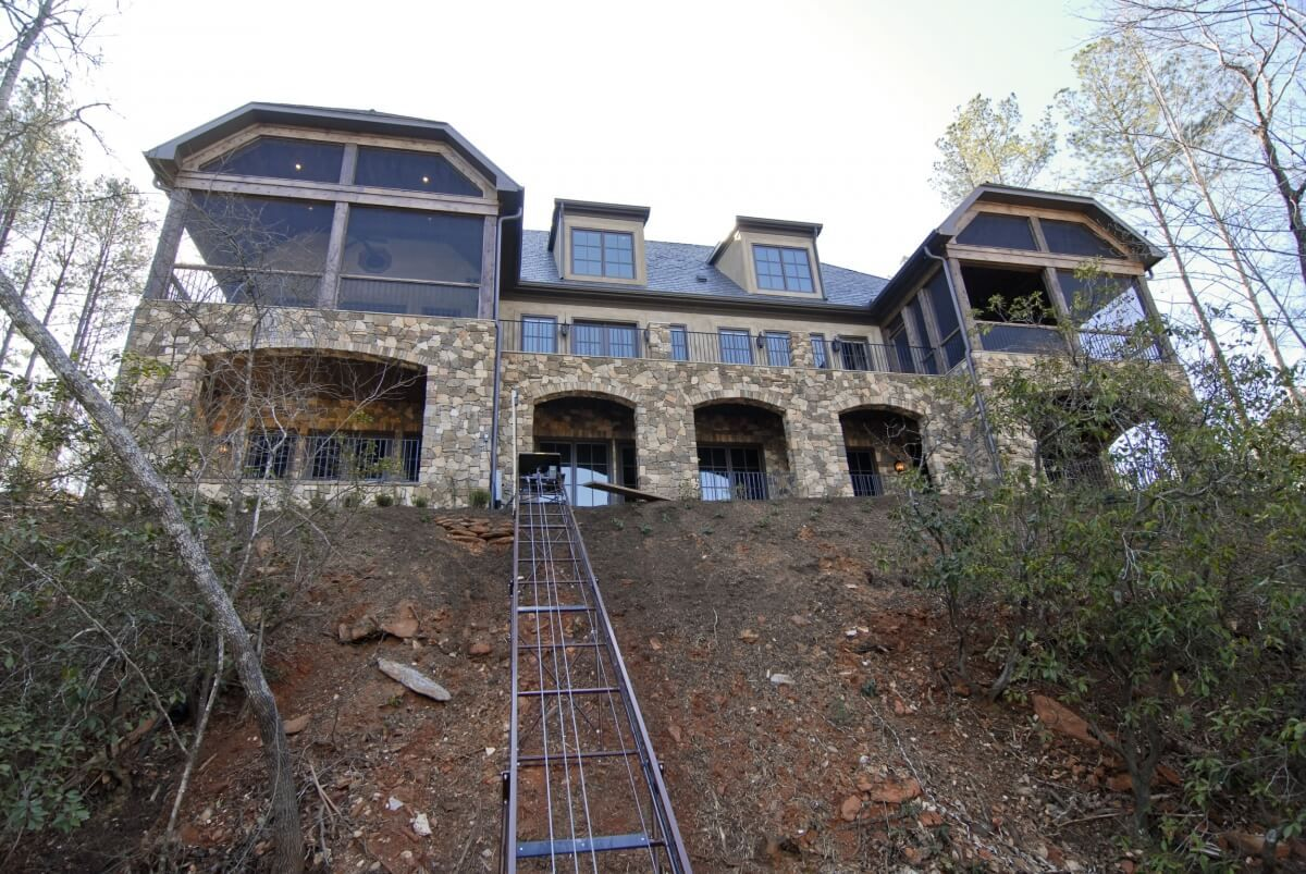 Lake Keowee, SC Custom Home Built by Lake keowee