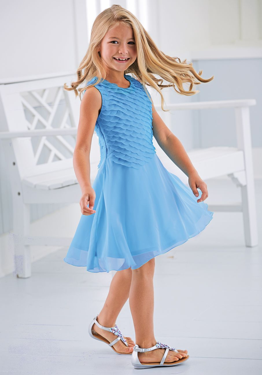From CWDkids: Mermaid Scallop Dress | Kids Spring Fashion ...
