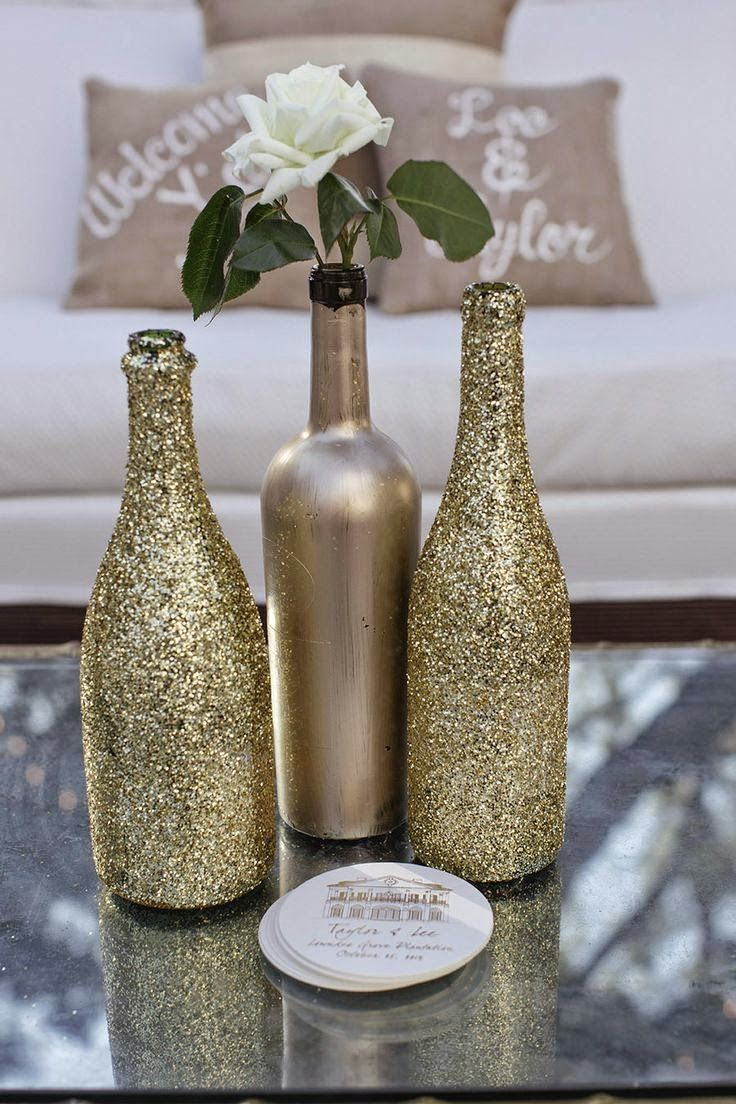 How To Decorate Wine Bottles Aninha Diniz  Wine Bottles Decor  Pinterest  Bottle Wine