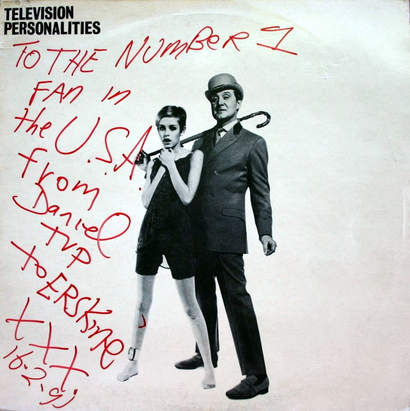 Television Personalities  (autographed)