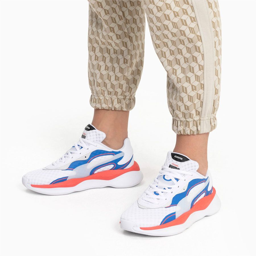 PUMA Rs Pure Vision Running Shoes in WhitePalace Blue size