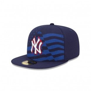more photos 62e2e 2e8c7 New Era New York Yankees Stars And Stripes 59Fifty Fitted Hat (Navy)
