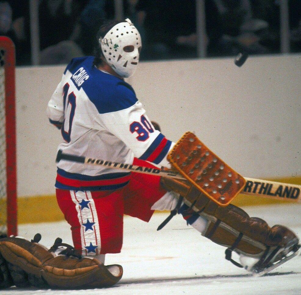 Jim Craig Goalies Masked Marvels Ice Hockey Players Team Usa