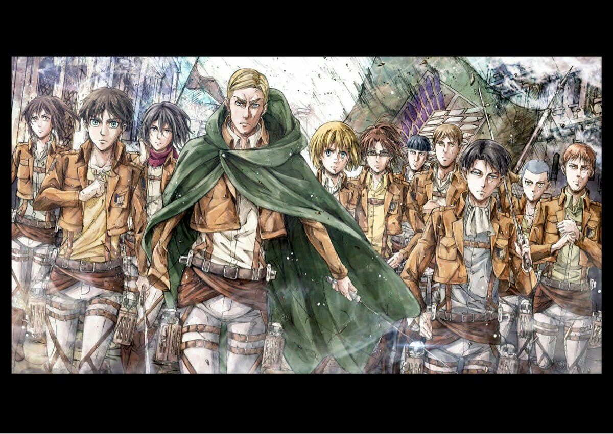 Attack on Titan Episode 49 End Card Attack on titan