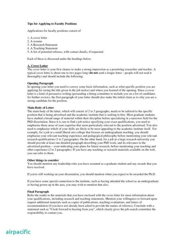26+ Academic Cover Letter | Cover Letter Tips | Letter example ...