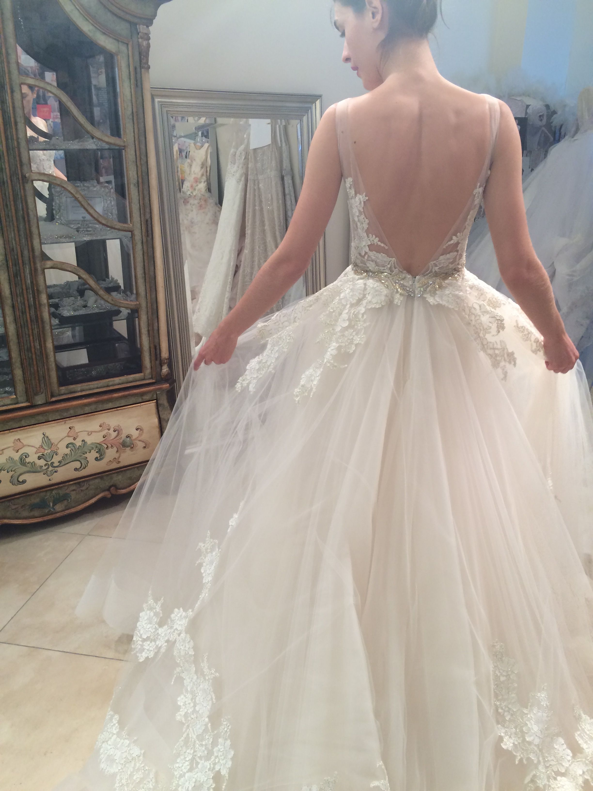 Style 3607 In Lazaro Design Studio Lazaro Wedding Dress Wedding
