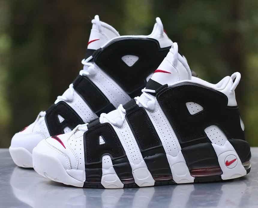 4daa258b253 Nike Air More Uptempo Scottie Pippen White Black Red 414962-105 Men s Size  11  Nike  BasketballShoes