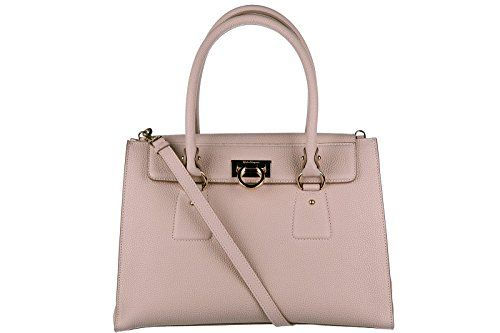 c31568d2819a Salvatore Ferragamo women s leather shoulder bag original lotty beige