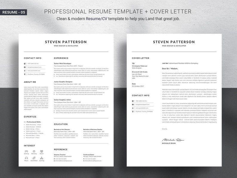 Professional Resume Template Word Resume Template Professional Resume Template Good Resume Examples