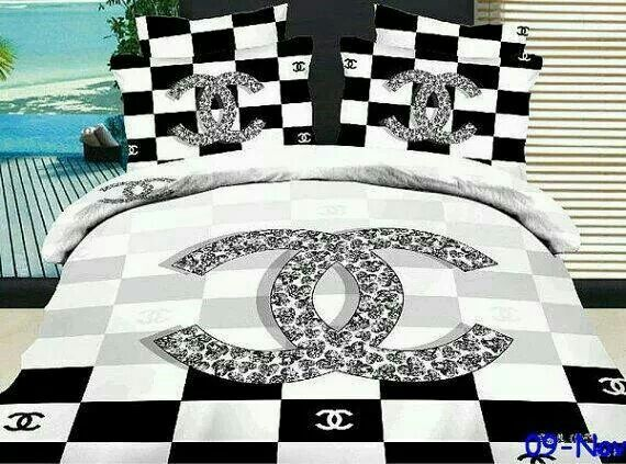 chanel bedspread | home decor | pinterest | bedspread, chanel