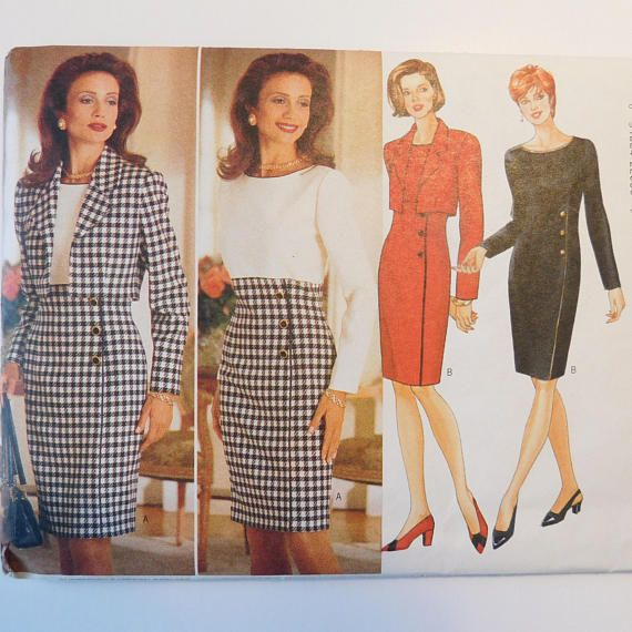 Butterick Classic Vintage Sewing Pattern 4233 Women\'s | Promote ...