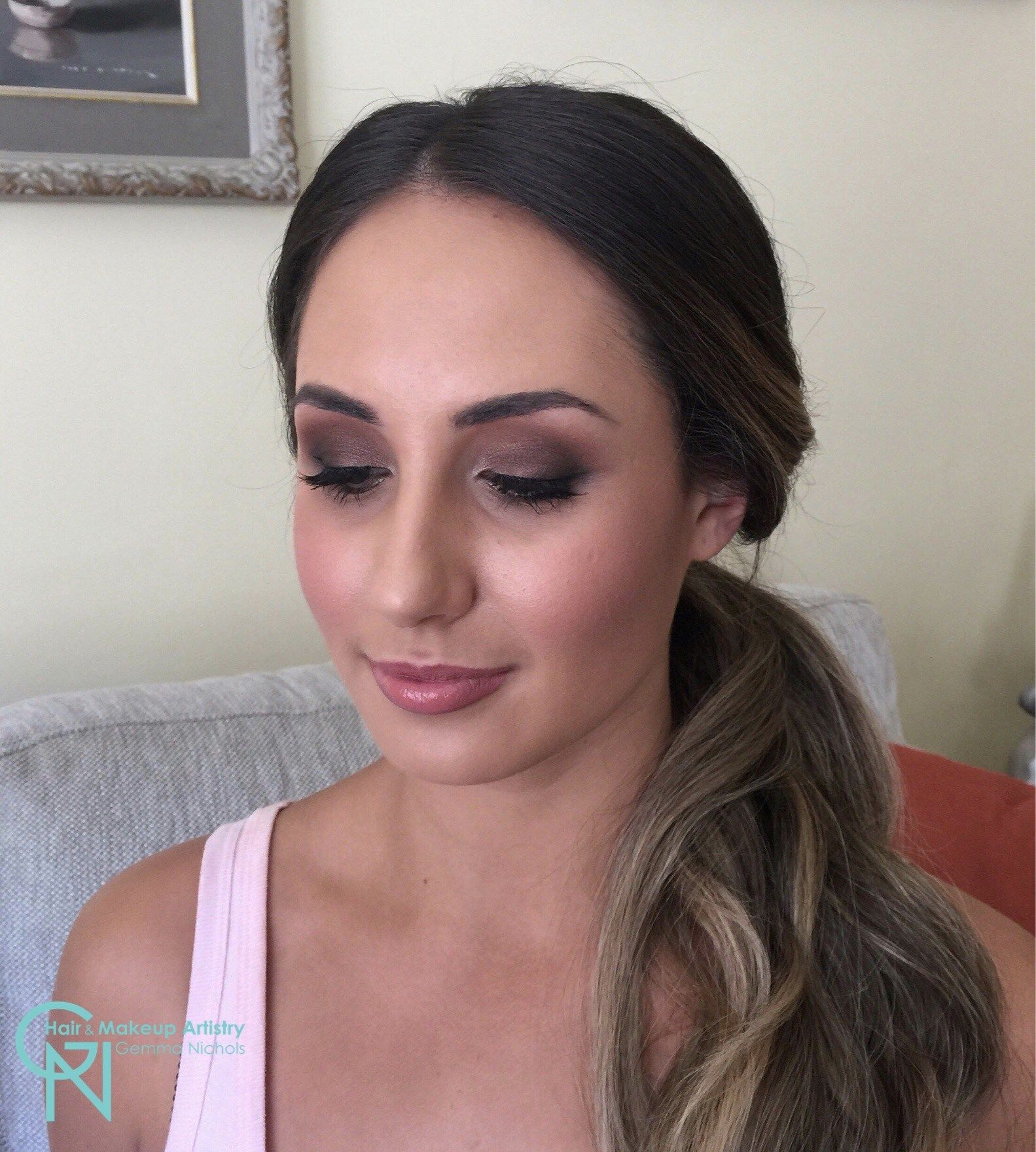 Smokey Eyes For Bridesmaid By Gemma Nichols Hair And Makeup Artistry Mobile Sydney