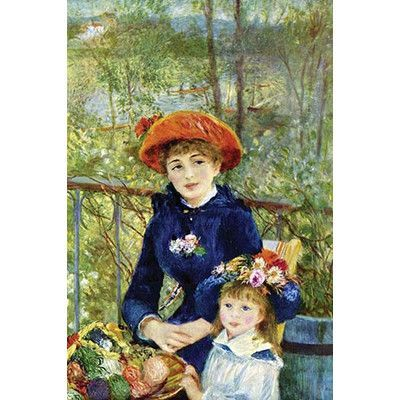 Buyenlarge 'On the Terrace' by Pierre-August Renoir Painting Print Size: