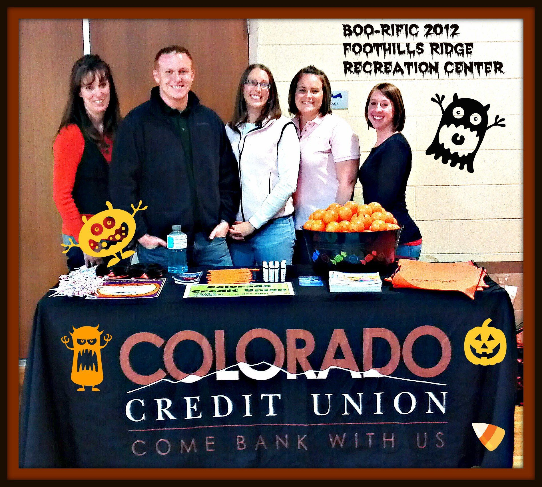Colorado Credit Union was a proud sponsor of the FoothillsRidge Recreation Center - BOO-RIFIC Event Friday, October 26th!