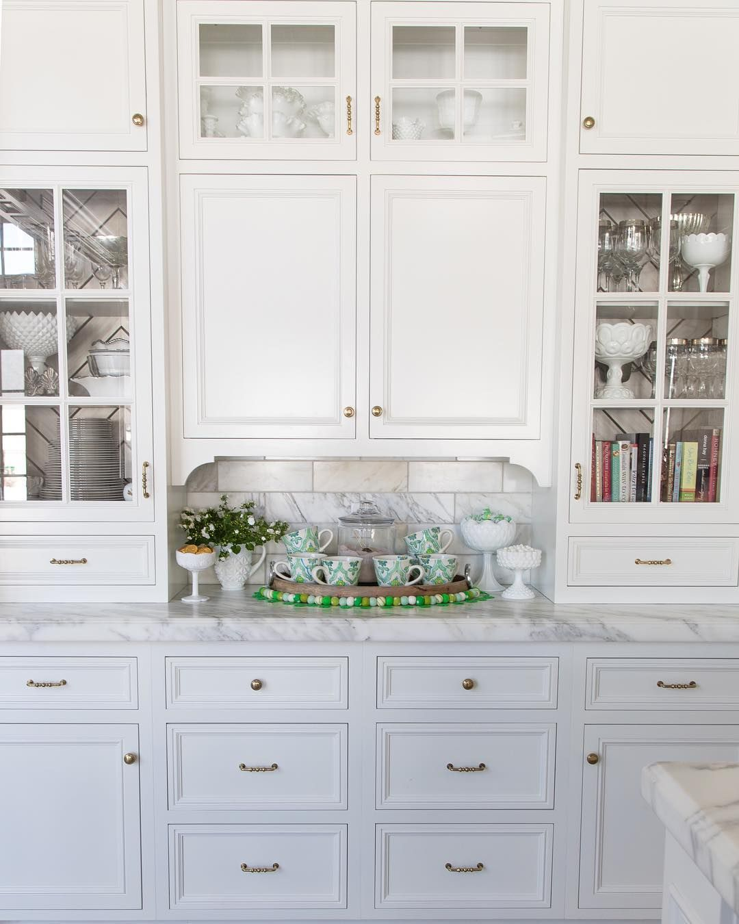 Hollyj On Instagram I Love This Little Nook In Our Kitchen It S Perfect For A Hot Cocoa Bar And With Saint Patrick S Day Coming Up I Ad Spring Decor