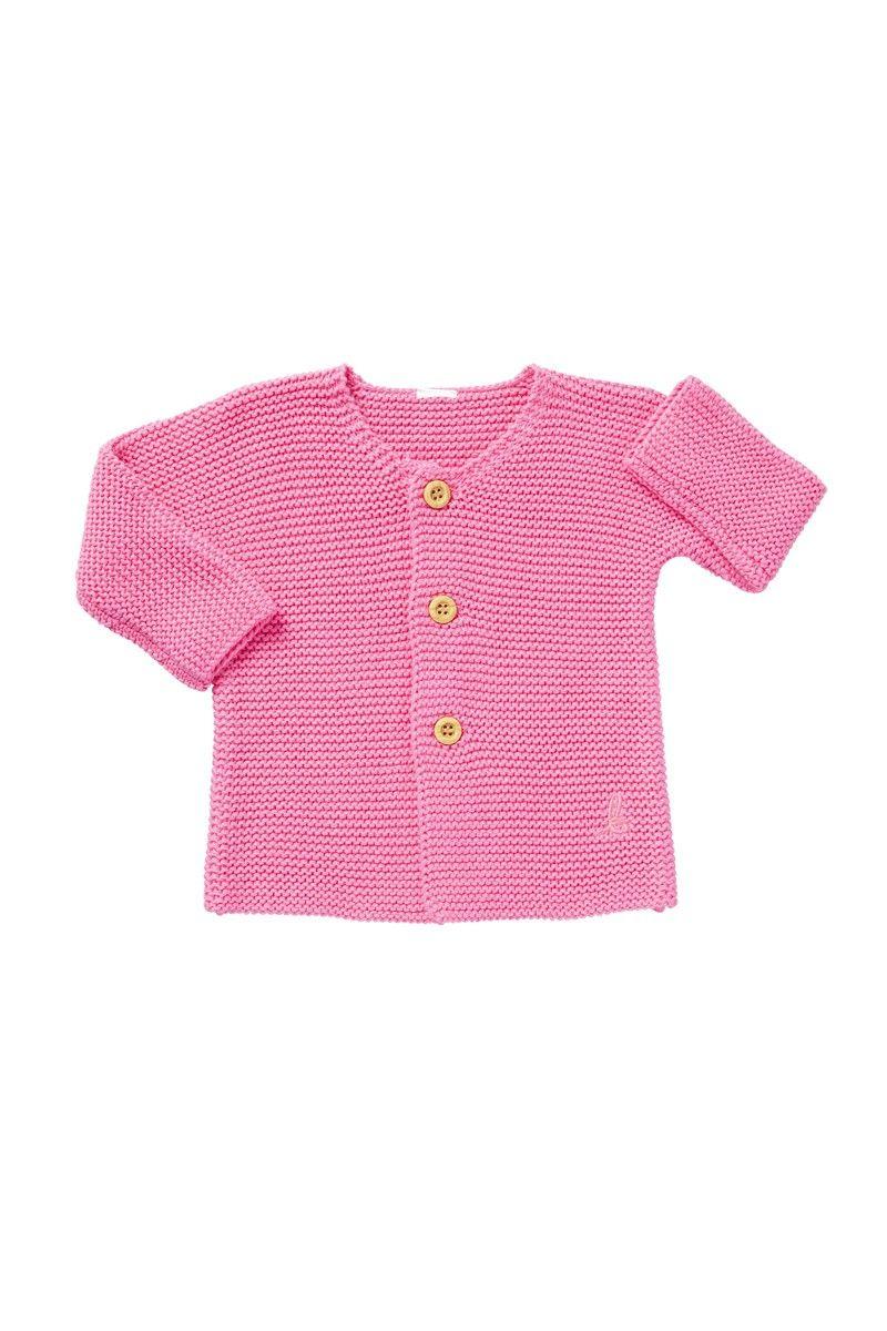 a7acf1b879e8 Bonds Newborn Knit Jacket Hyper Bloom