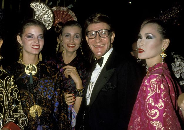the celebrations of the most legendary celebrities of all time Yves Saint Laurent Opium
