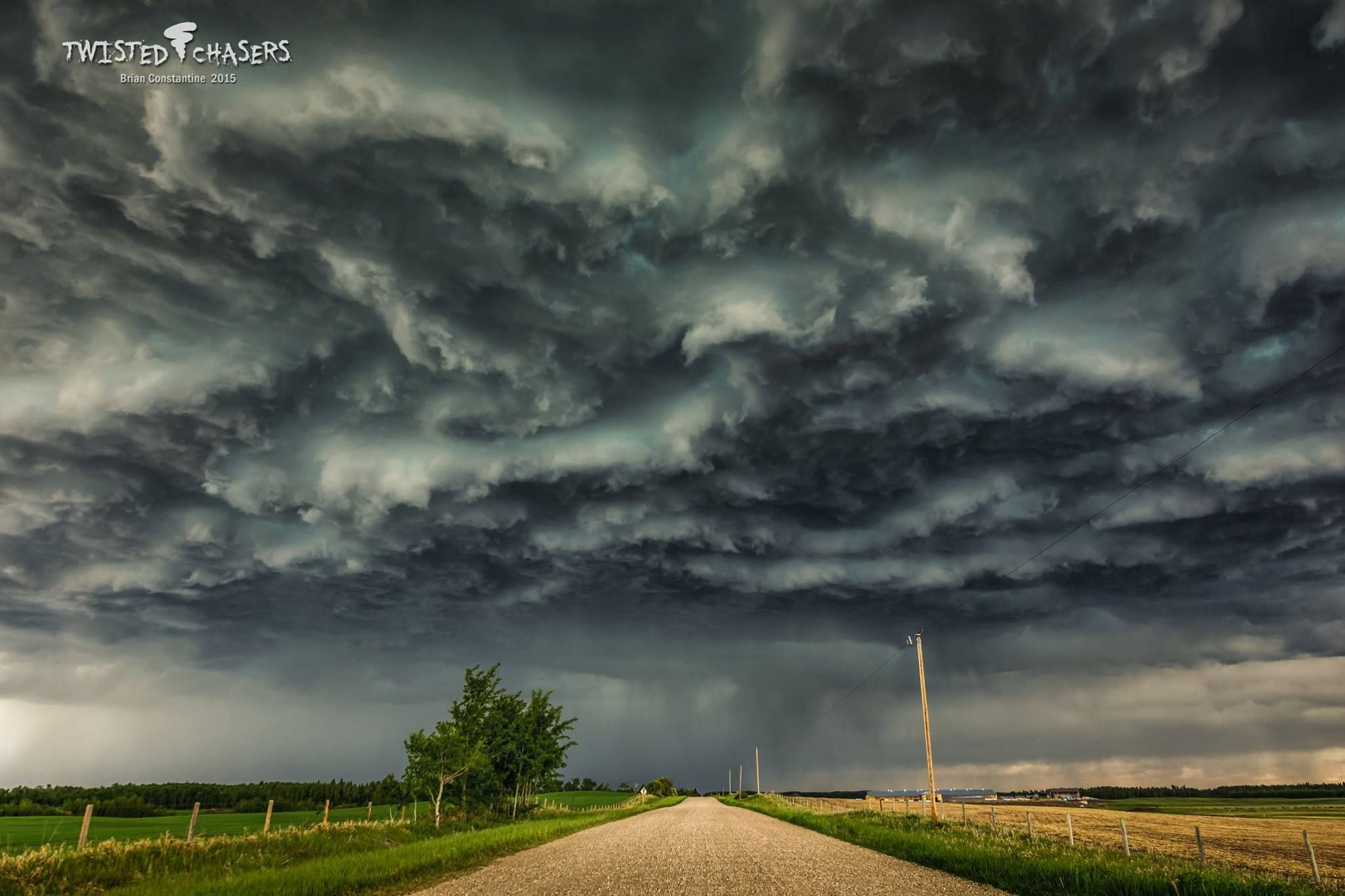 Taken on a nice Sunday afternoon drive (May 31, 2015) near Lacombe, Alberta as storm season gears up from us in the north.