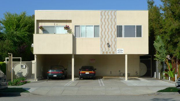 The Lower Modernisms 017 Introducing The Dingbat Multifamily Housing Modern Apartment Building