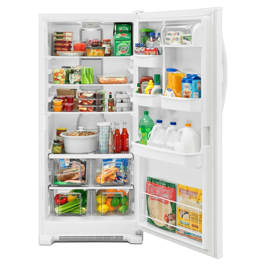 Whirlpool 17 7 Cu Ft Freezerless Refrigerator White Energy Star 764 Freezerless Refrigerator Refrigerator All Refrigerator
