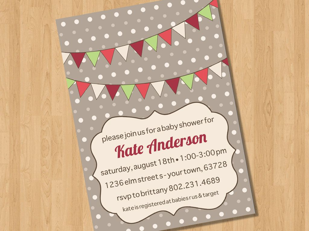 invitations? Gender neutral baby shower invitations