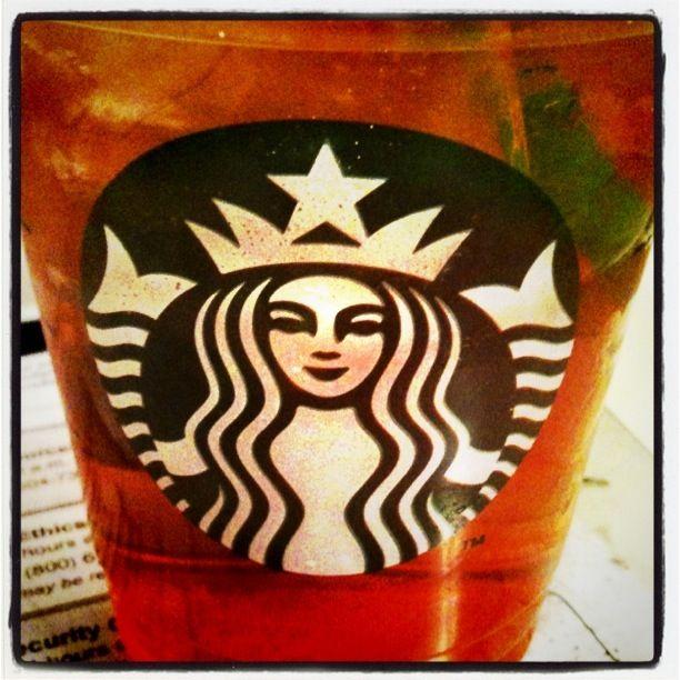 Black iced tea w/ SL