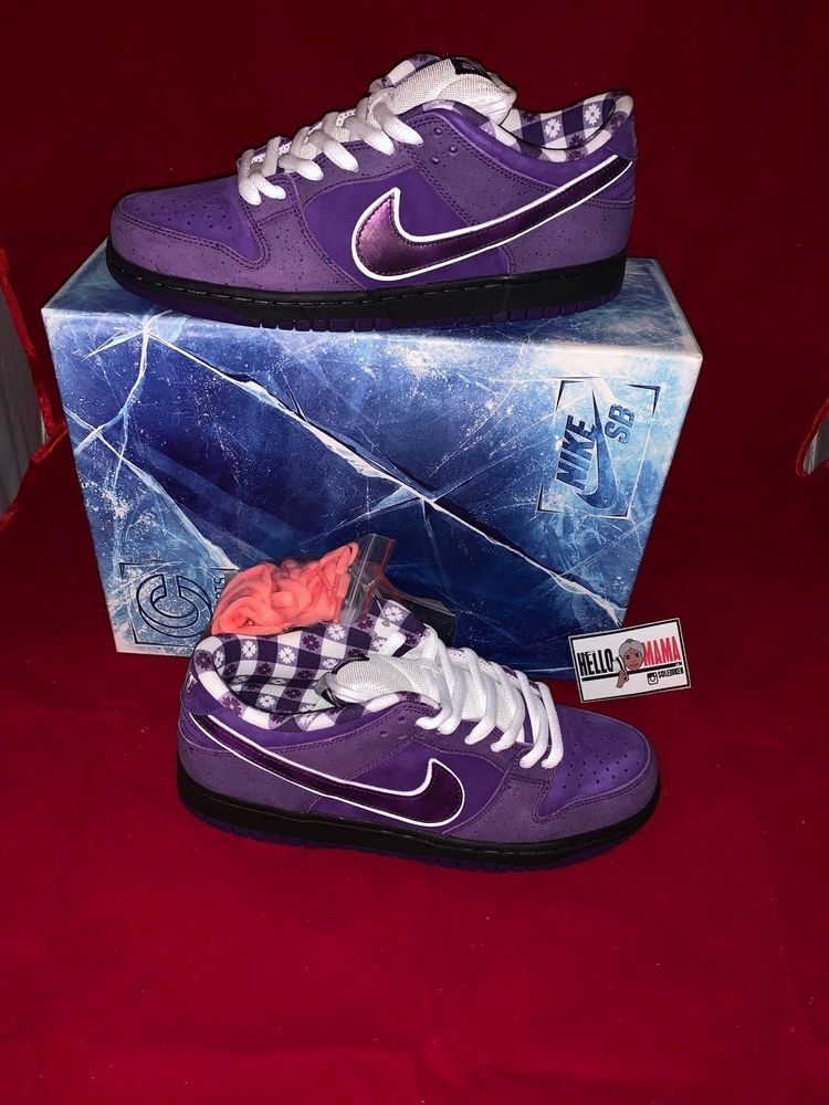 buy popular 3d66c 9ea8c eBay Sponsored NIKE SB X CONCEPTS DUNK LOW PURPLE LOBSTER 2018 SPECIAL BOX  - in